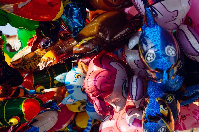 Balónky na dětský den
